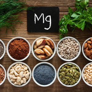 food items with sufficient amount of magnesium