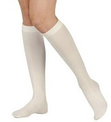 picture of a person wearing white socks