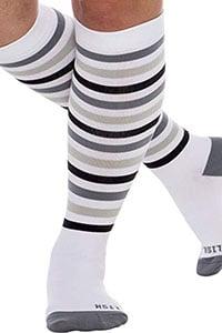 15 - 20 mmHg knee high wide calf womens compression socks
