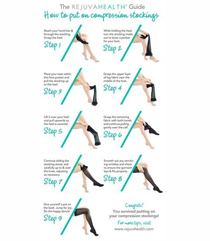 picture-of-guide-on-how-to-put-compression-socks-in-steps