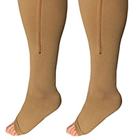 medium support level Wide calves compression socks and compression stockings