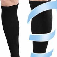 15 – 20 mmHg, 20 – 30 mmHg, or 30 – 40 mmHg knee high or thigh high compression socks boost circulation