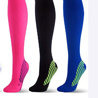 high performing 20-30 mmHg athletic socks