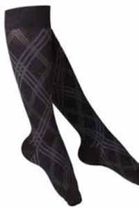 20 - 30 mmHg knee high womens support compression socks