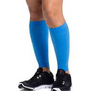 20 - 30 mmHg support socks help boost blood flow to heal injury to the calf and knee