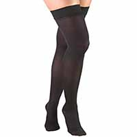 20 - 30 mmHg thigh high womens support compression socks