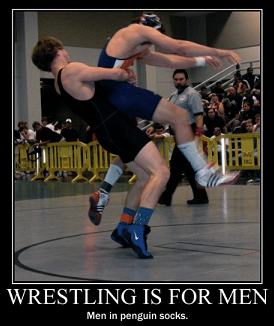 funny meme about wrestling