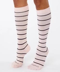 White and black Compression Socks