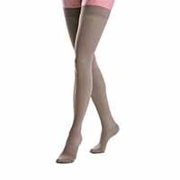 30 - 40 mmHg thigh high womens support compression socks