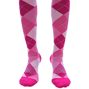 30 to 40 mmHg knee high support compression socks
