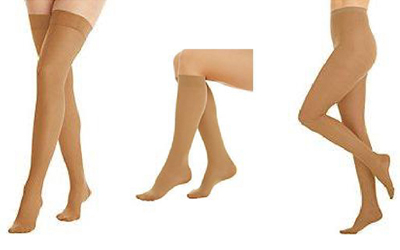 light brown Compression hosiery