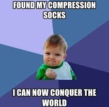 funny baby meme about socks
