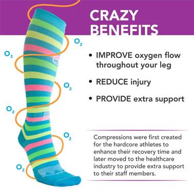 benefits of wearing socks