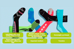 different-compression-socks-description-about-who-must-wear-them