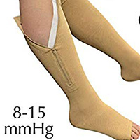 mild support level wide calves compression socks and compression stockings
