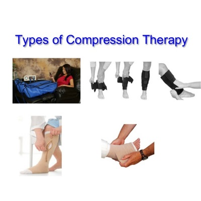 picture demonstrating types of compression therapy