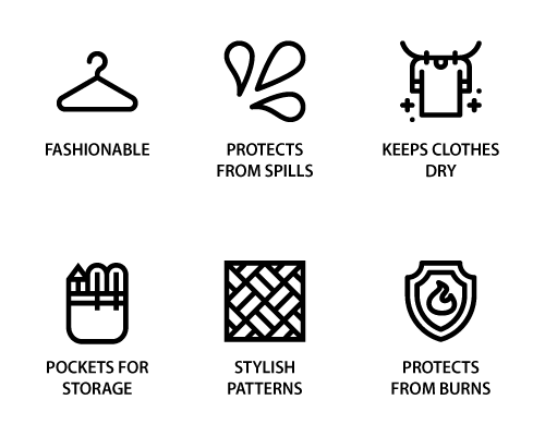 Purposes of aprons