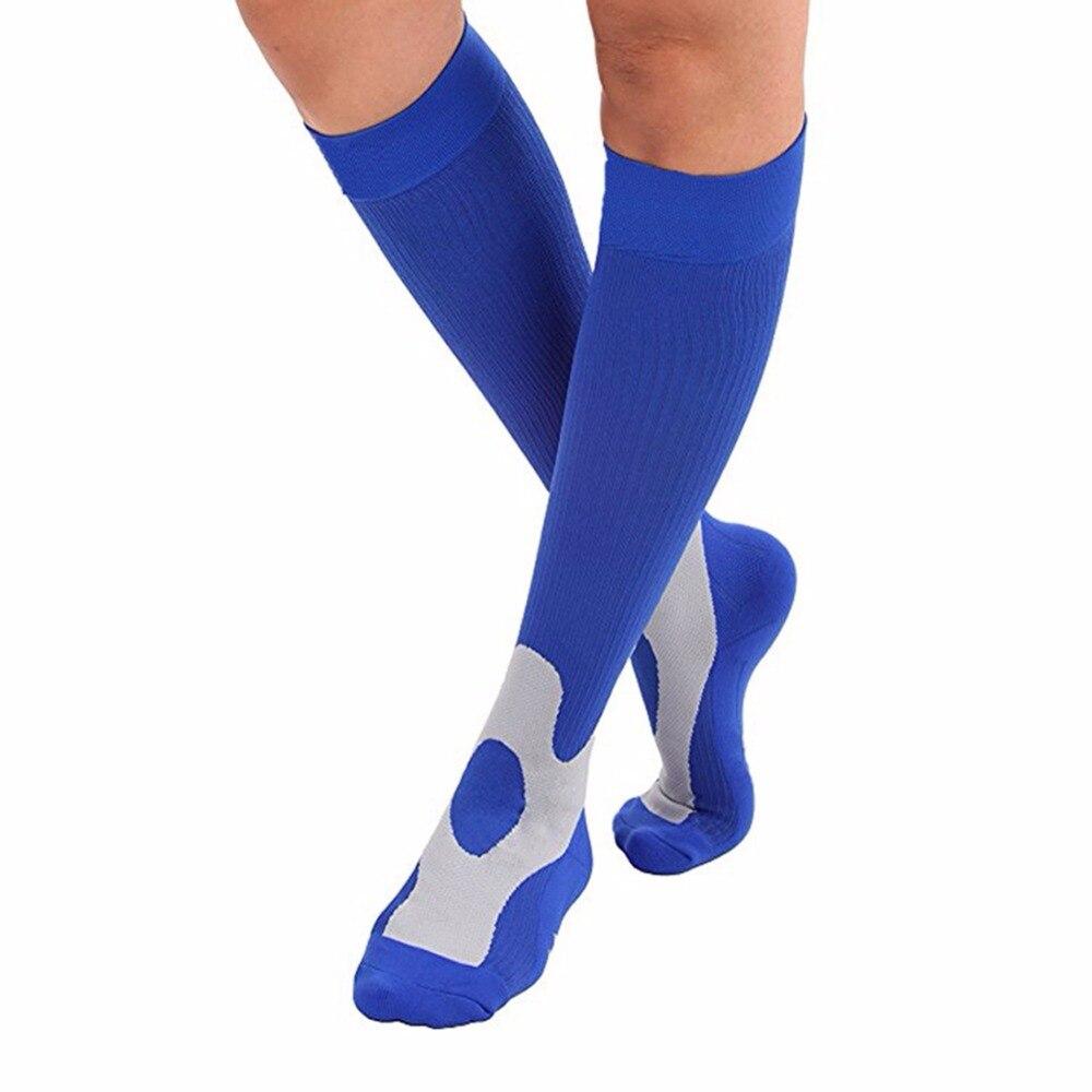 Clean compression socks