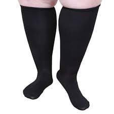 Closed toe compression gear for Bigger calves