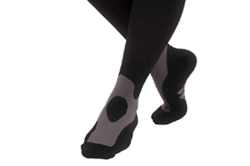 Compression Socks Black for Long Day Work