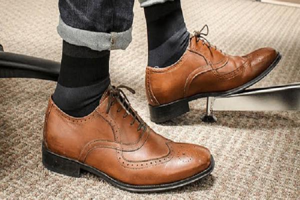 Compression Socks Worn Under Footwear