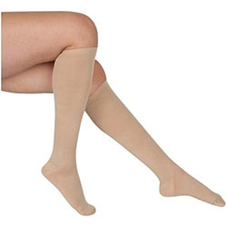 compression stockings for treating varicosities