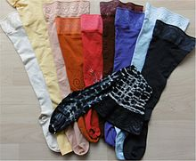Compression Stockings in Different Styles and Colors