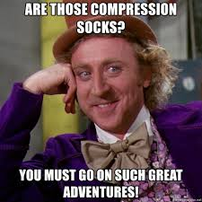 begin your adventure with compression socks