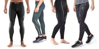 Compression tights for runners