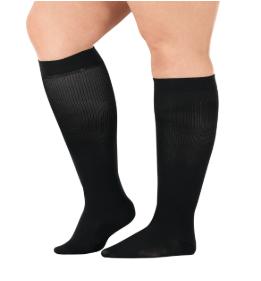 comprogear black compression socks