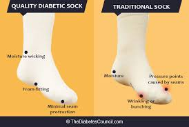 white diabetic support compression knee socks