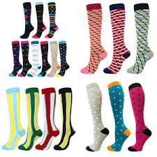Different styles of medical grade socks
