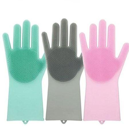 Dishwashing gloves help