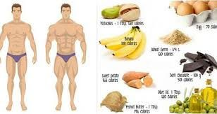 Eat more to gain weight