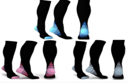 Graduated Compression Socks for Men and Women