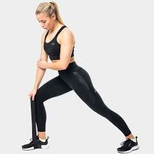 Graduated compression leggings for women