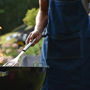 Grilling aprons