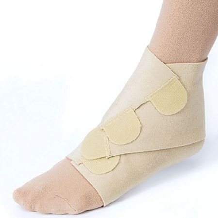 Leg wrap with velcro
