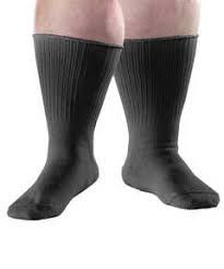 Lipedema Patient in Extra large Compression Socks