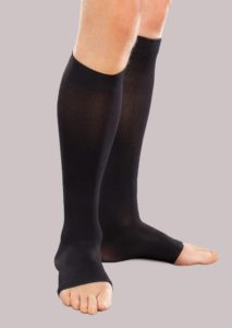 Moderate Support Toeless Knee High Compression Socks