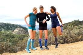 Use compression socks when working out