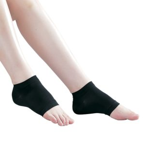 Open-Toe Compression Ankle Stockings