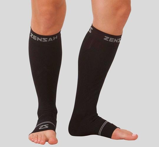 Open Toe Support Hose Suitable for Men