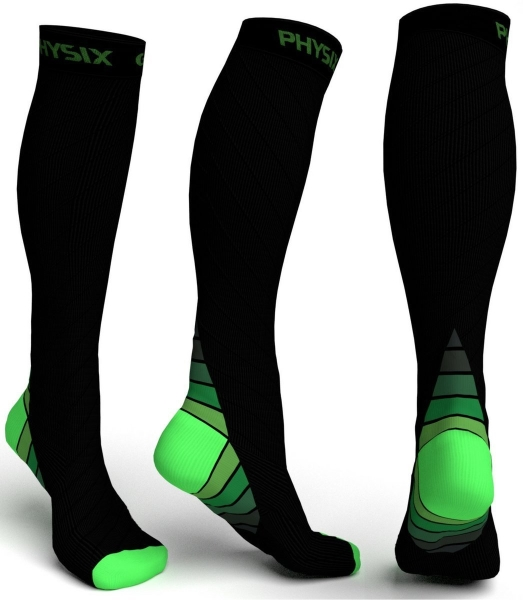Compression socks for sleeping