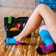 Pack compression socks