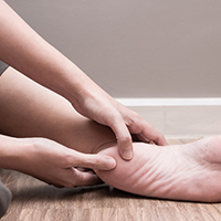 Plantar Fasciitis can be treated with medical support hosiery