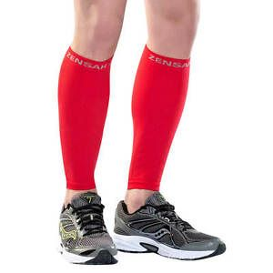 Red Compression Leg Sleeves