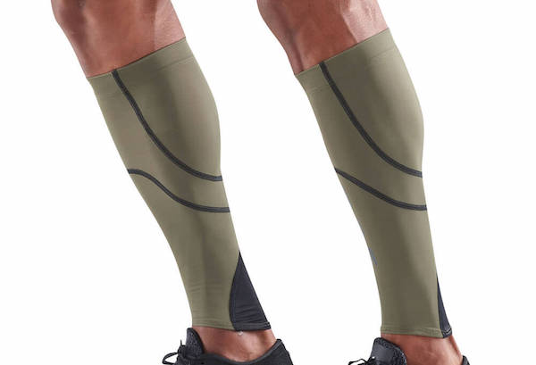 Compression sleeves for legs/compression leg sleeves with compression support for the calf muscle