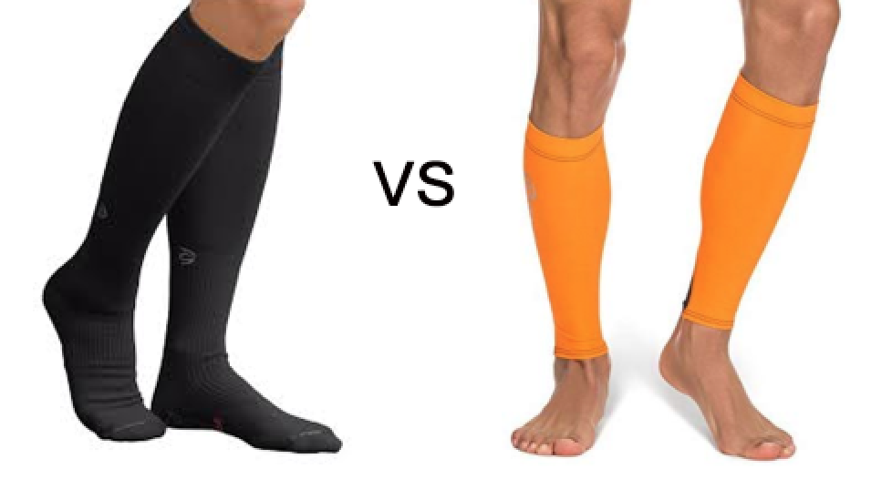 Compression socks vs compression tubes