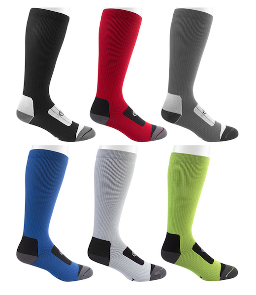Compression socks for men in grey
